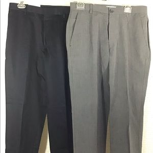 Calvin Klein straight fit pants 32x32 2 pairs